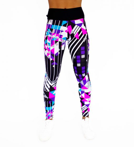 Legging a cubique en couleurs modernes 564 face