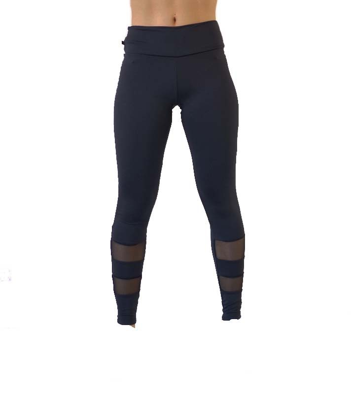 Legging a détails horizontal transparent 590 3/4