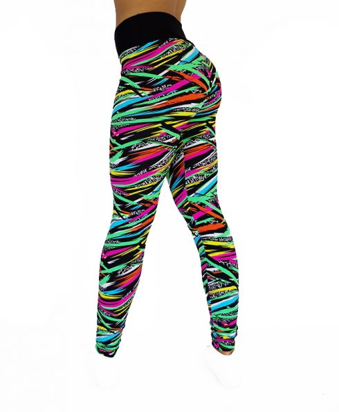 Legging en zebre coloré 100670 3/4